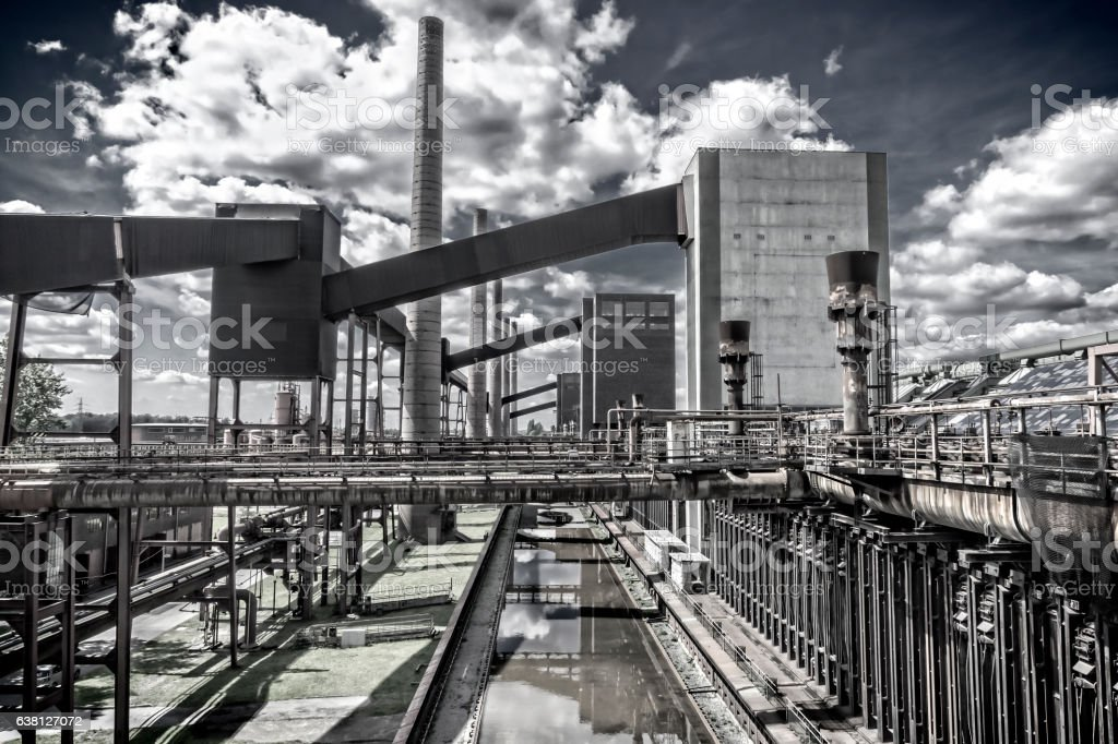 Zeche Zollverein coke oven plant stock photo
