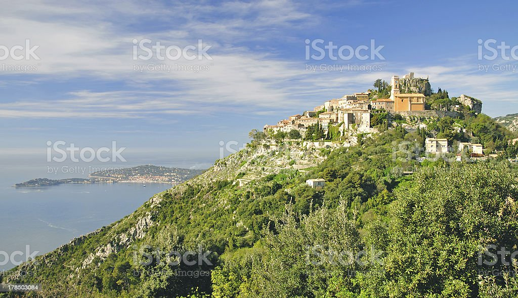 Èze,french Riviera,South of France stock photo