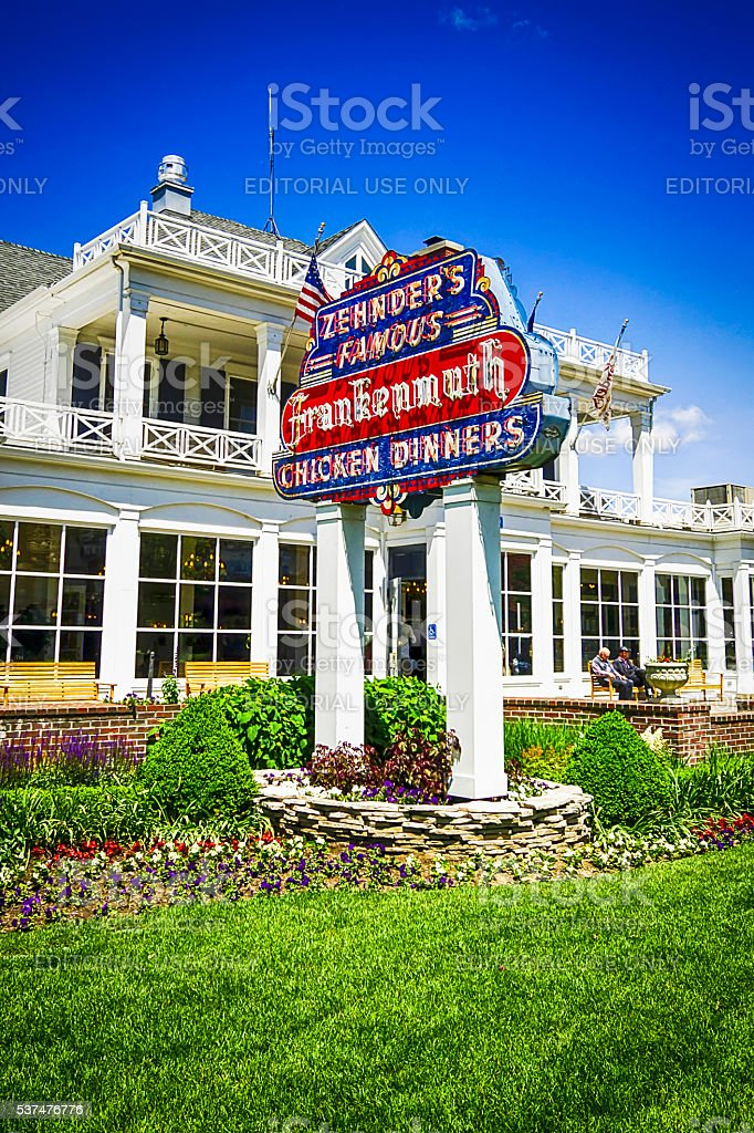 Zehnders Famous Chicken Dinners Restaurant In Frankenmuth Mi