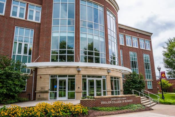 Zeigler College of Business at Bloomsburg University stock photo