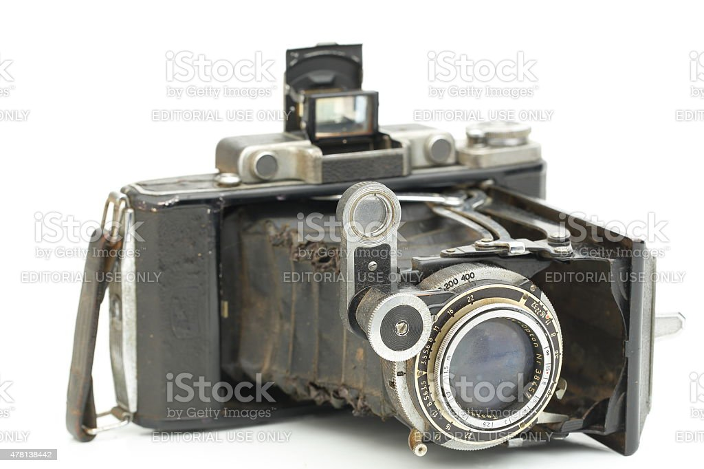 Zeiss Ikon Super Ikonta From Camera Collection Stock Photo Download Image Now Istock