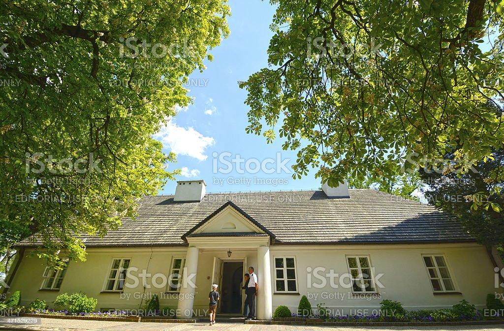 Zelazowa Wola royalty-free stock photo