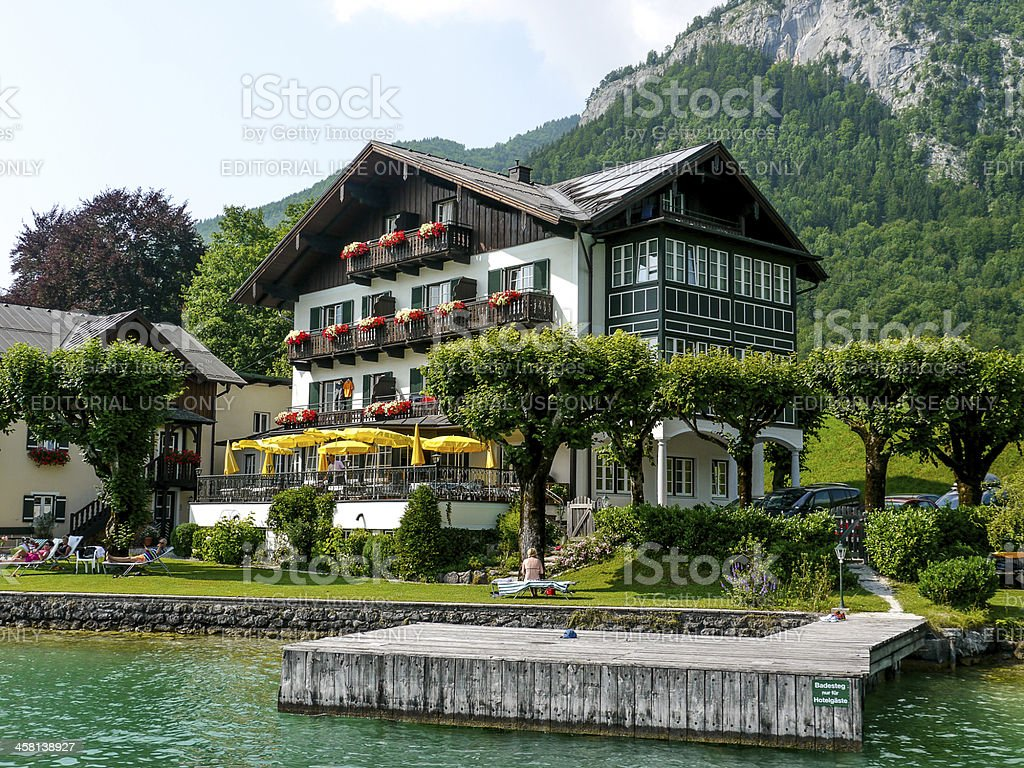 Zell am See royalty-free stock photo