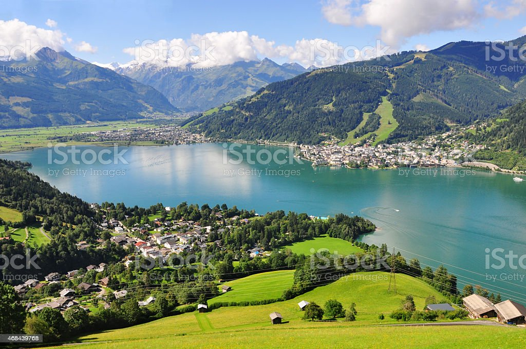 Zell am See, Salzburger Land, Salzburg, Austria stock photo