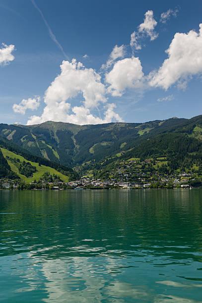 Zell am See Blick auf den See. – Foto