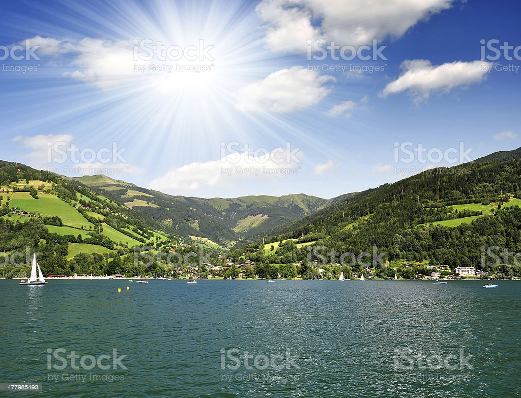 Zeller see stock photo