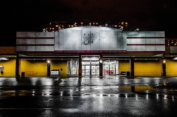 Zellers Abandonned stock photo