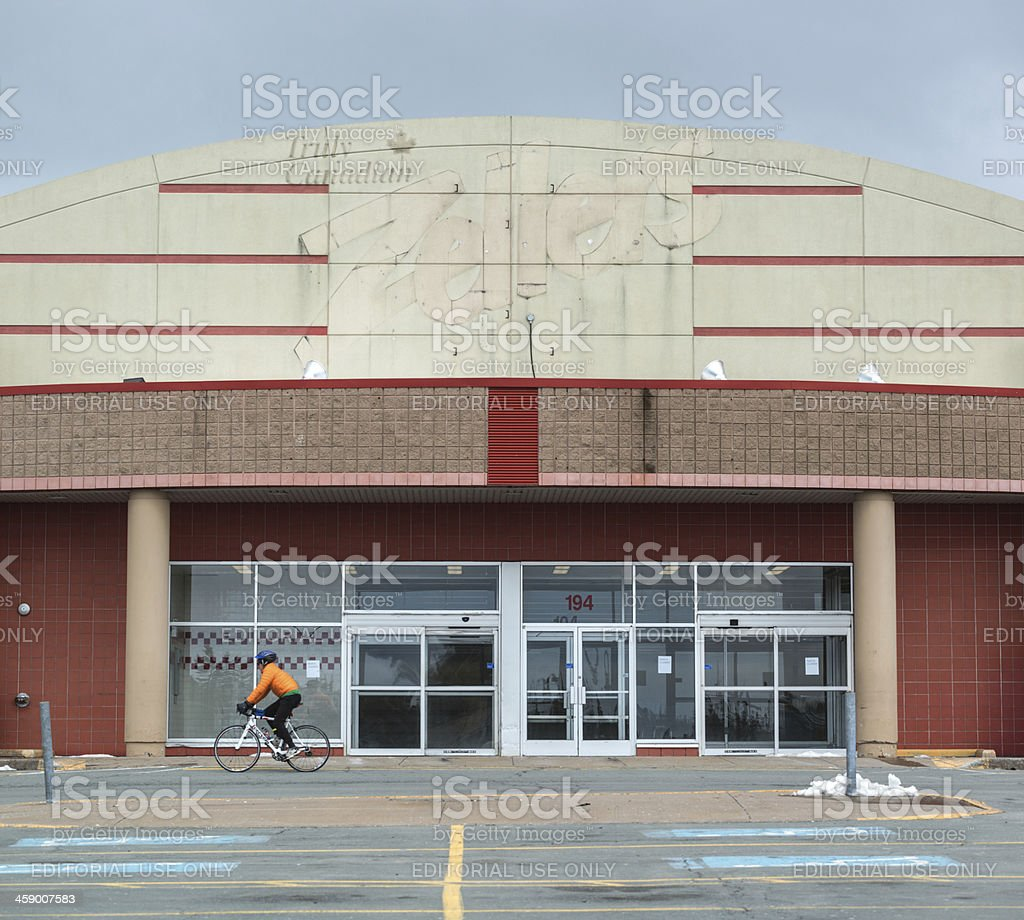 Zellers Closed stock photo