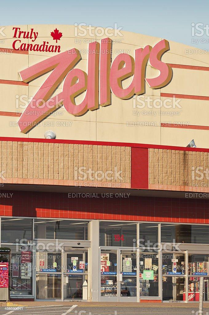 Zellers Department Store stock photo