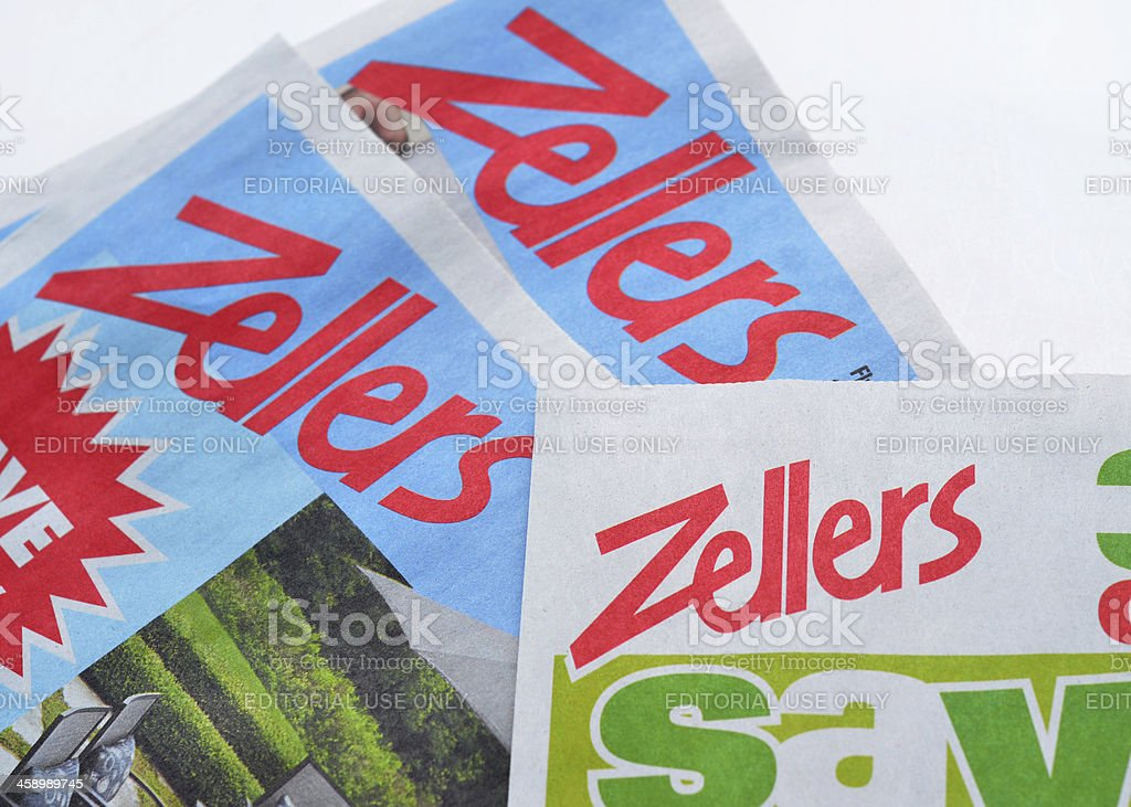 Zellers stock photo