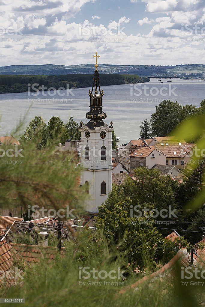 Zemun stock photo