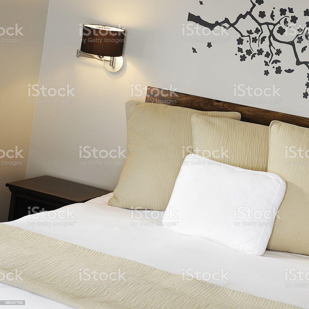 Zen bedroom royalty-free stock photo