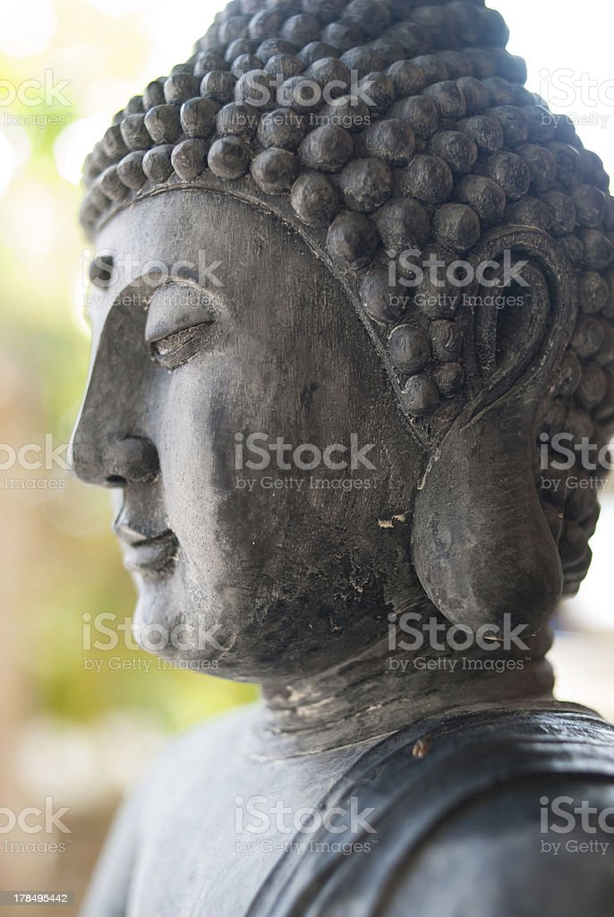 Zen Buddha stock photo