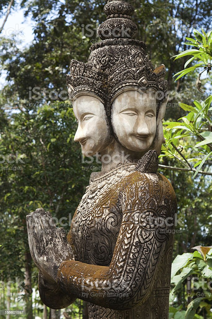 figurine zen royalty-free stock photo