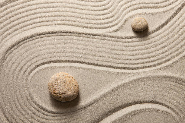 Zen garden stock photo
