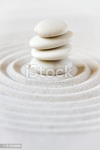 istock Zen japanese garden background 1131330889