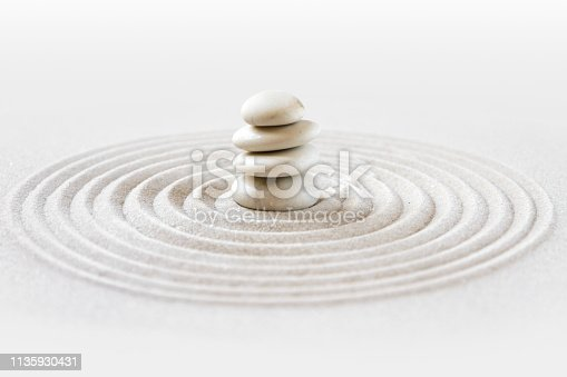 istock Zen japanese garden background 1135930431