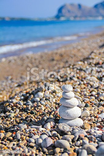 186803914 istock photo Zen like stones at the gravel beach 504245606