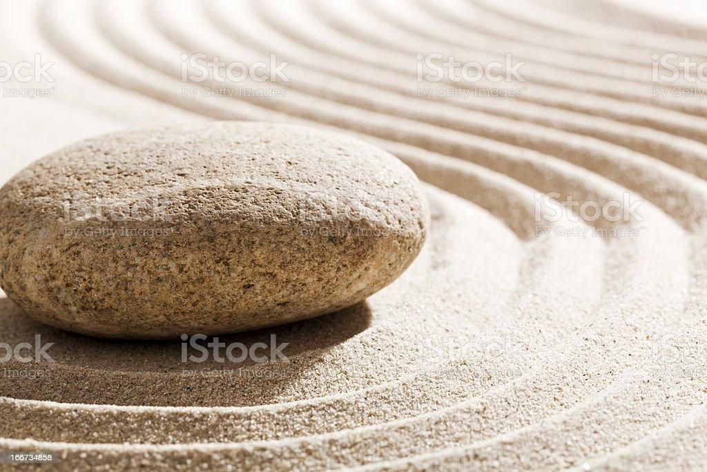zen meditation for inner beauty stock photo
