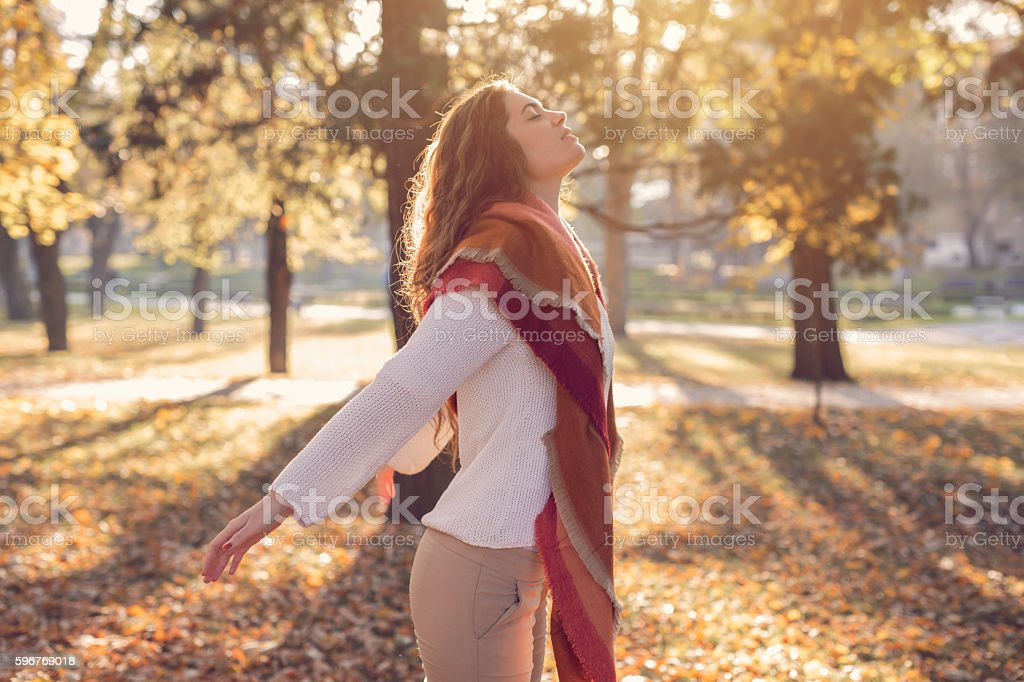 Zen peacefulness - Royalty-free 20-29 jaar Stockfoto