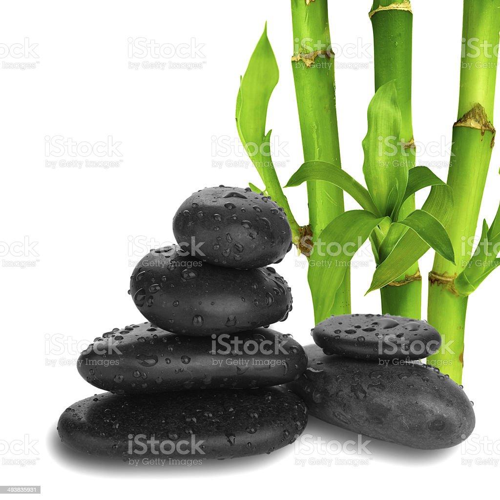 Zen pebbles. Stone spa and healthcare concept. royalty-free stock photo