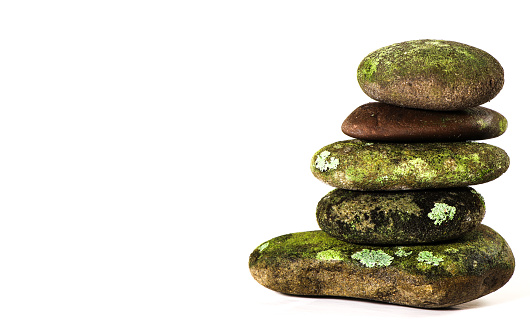 Power Point ready or Meme ready photo of a mossy rock stack. Zen photos for your business a spa. Great photos for power point, backgrounds, screen savers for your computer.