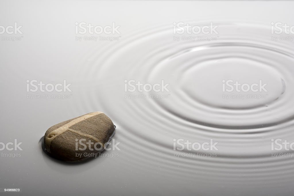 zen rock royalty-free stock photo