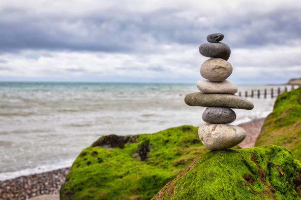 Zen Rocks on a Beach – zdjęcie