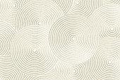 Zen sand pattern as background