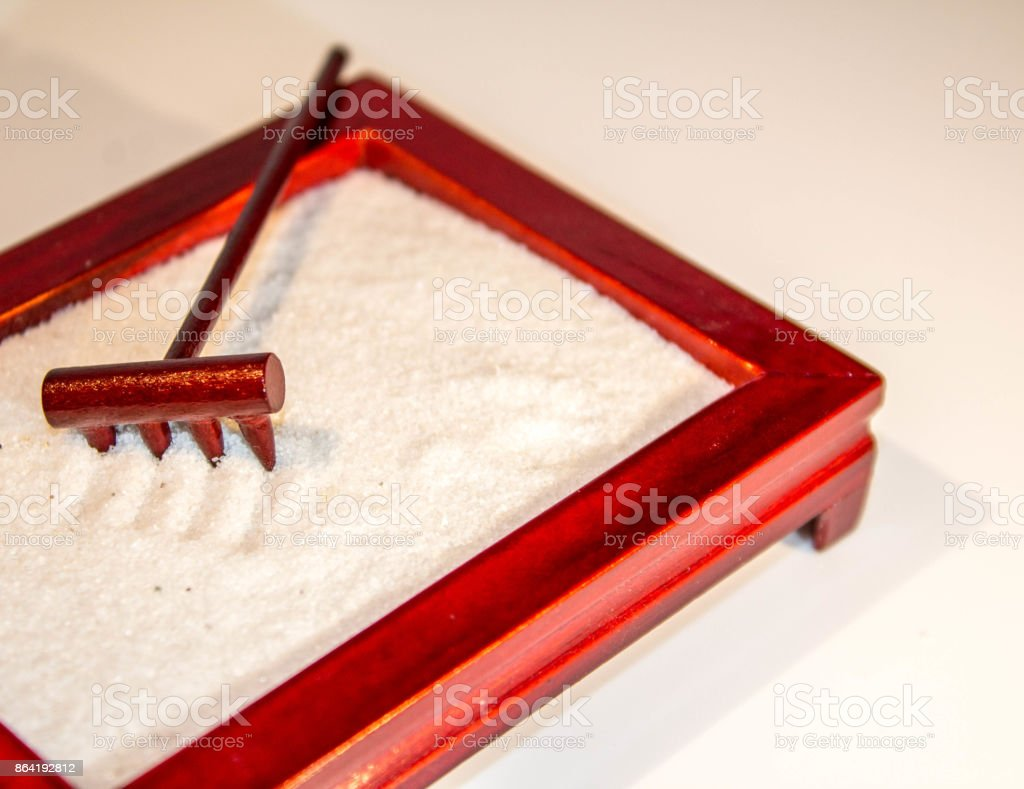 Zen Sand royalty-free stock photo