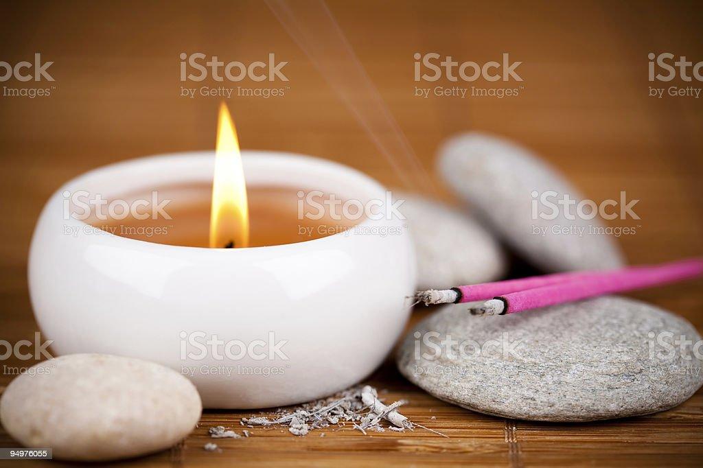 Zen scene stock photo