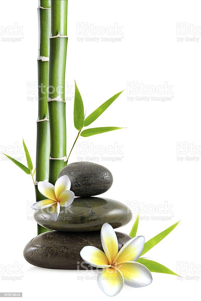 Zen scene royalty-free stock photo