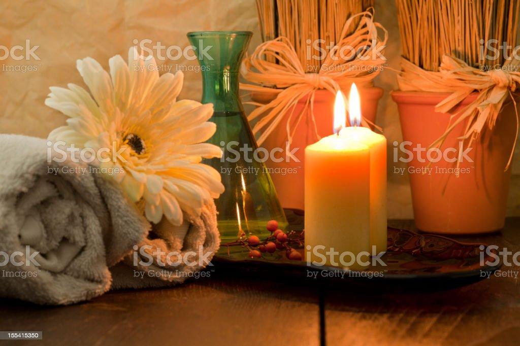 Zen  spa royalty-free stock photo