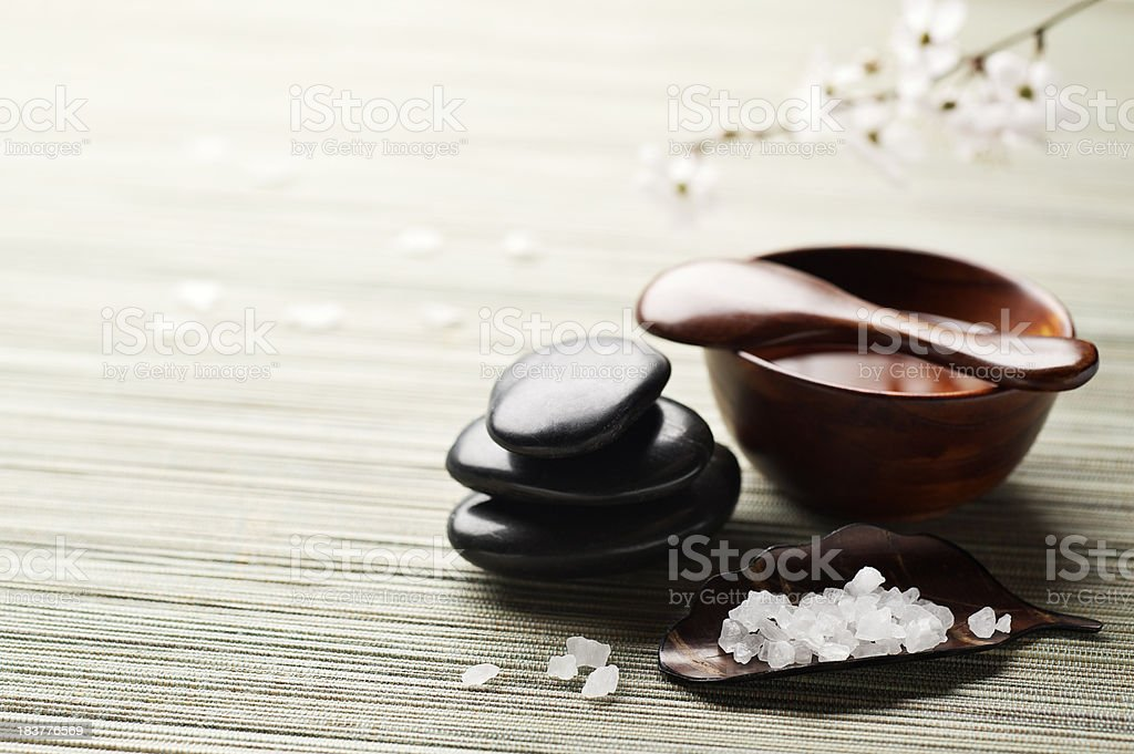 Zen Spa Rejuvenation Background royalty-free stock photo