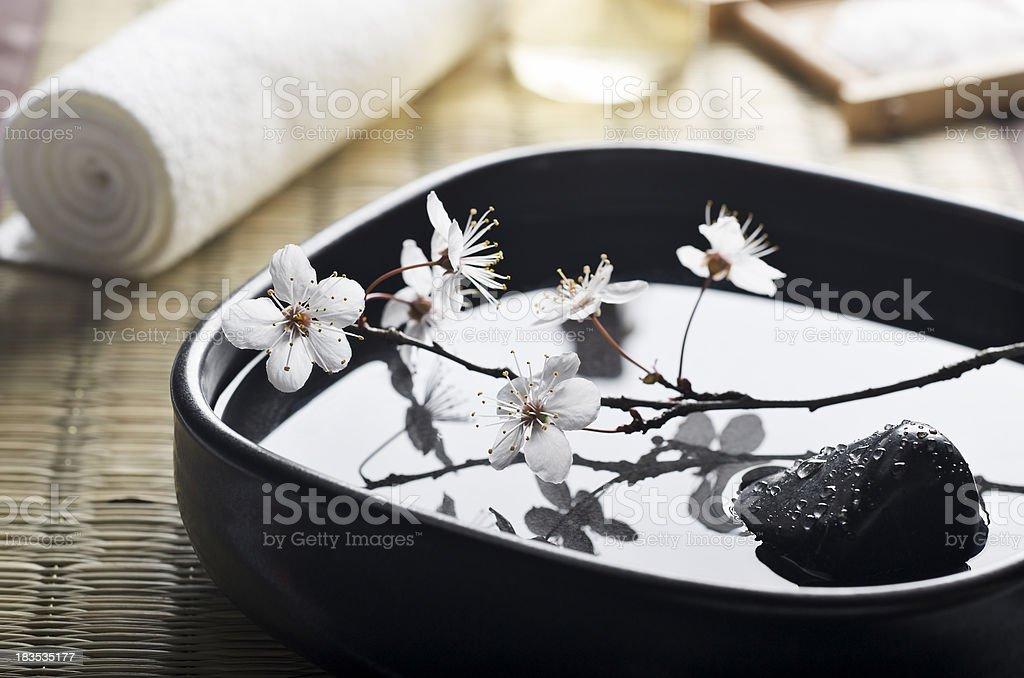 Zen Spa Still Life royalty-free stock photo