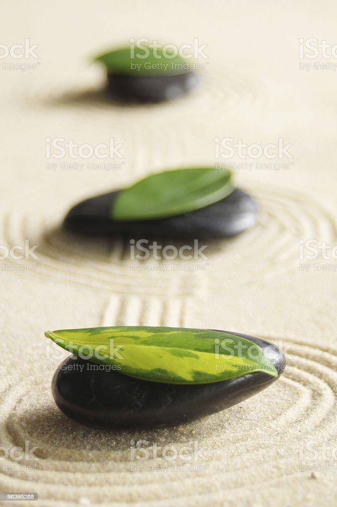 zen still life - Royalty-free Color Image Stock Photo