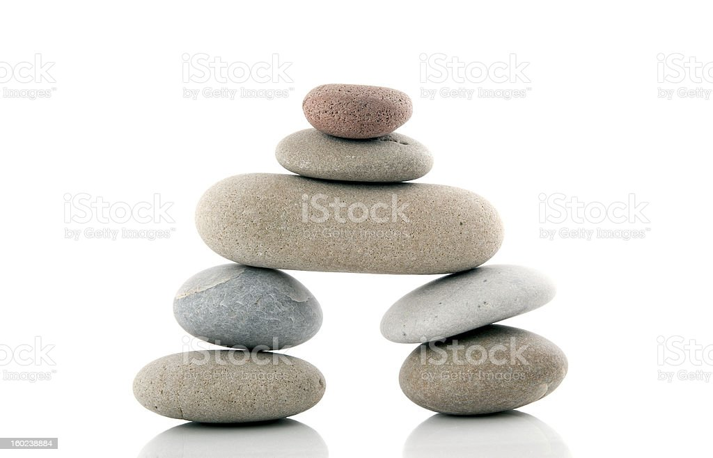 zen stone royalty-free stock photo