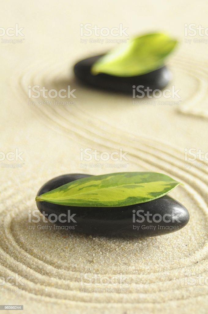 zen stone - Royalty-free Balance Stock Photo