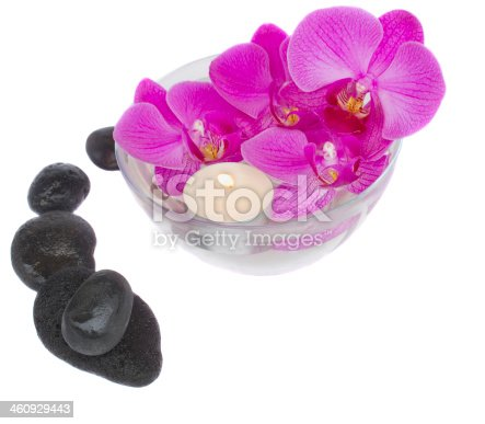 459851883 istock photo zen stones and orchids with candle 460929443