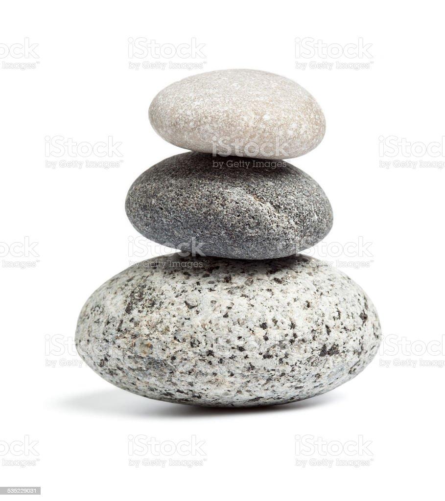 Zen stones balance concept stock photo
