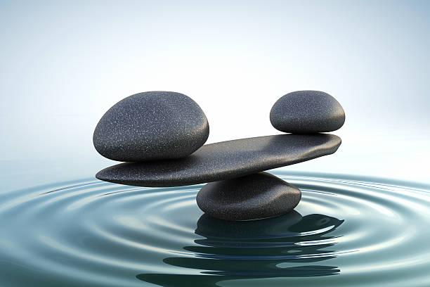 Zen stones balance. stock photo