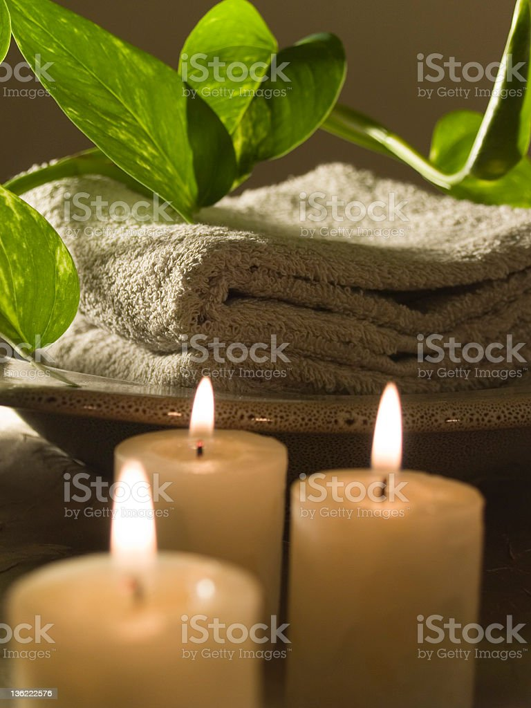 Zen Treatment royalty-free stock photo