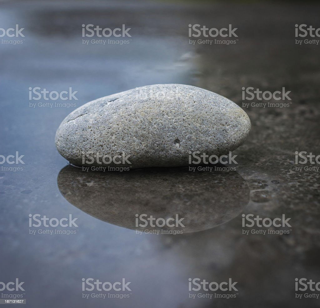 zen wet and dry royalty-free stock photo