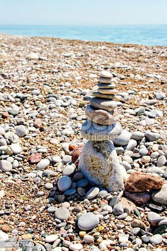 186803914 istock photo Zen-like grouping of stones 503647668