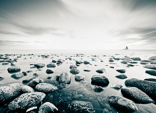 Zen-like seascape Beautiful seascape background estudio stock pictures, royalty-free photos & images