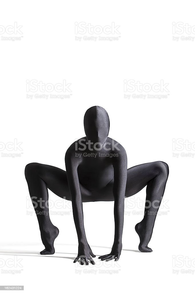 zentai suit stock photo