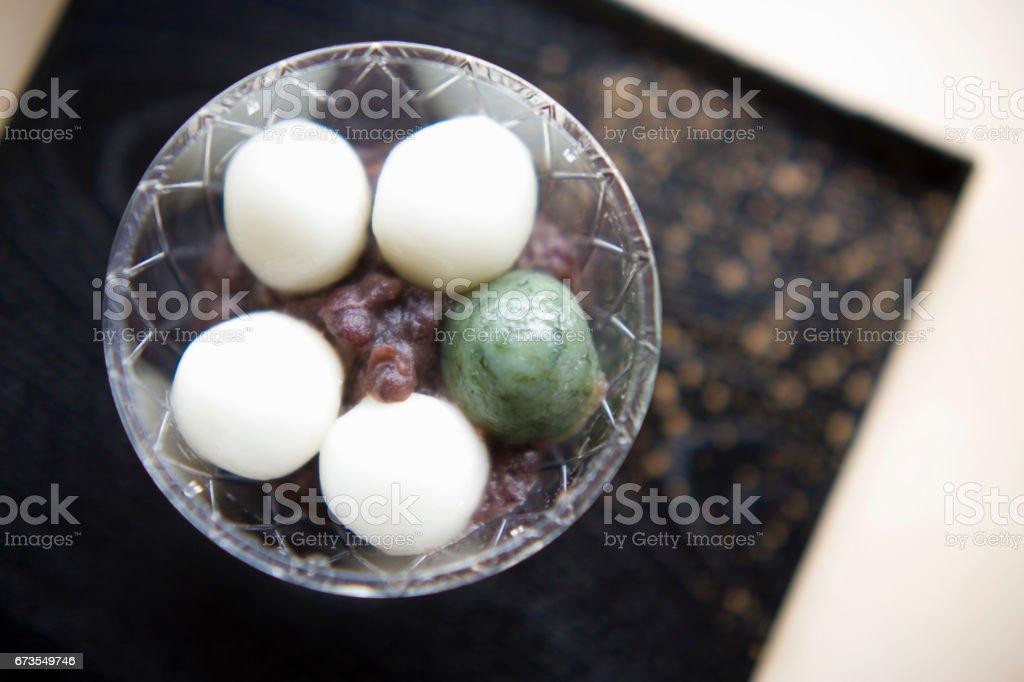 Zenzai royalty-free stock photo