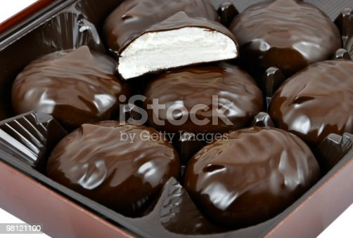 Zephyr In Box Stock Photo & More Pictures of Baked Pastry Item