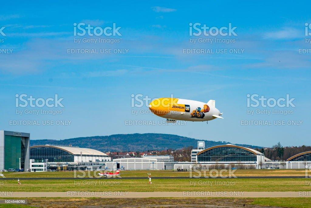 Zeppelin Flight In Friedrichshafen Germany Europe