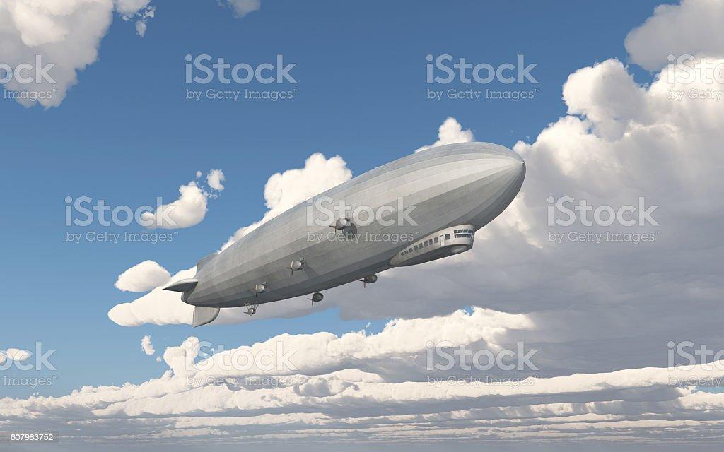 Zeppelin stock photo